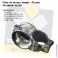 Filoir inox simple de chandelier - Fixation Tube 25mm