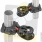 Poulie simple de chandelier - Fixation Tube 25mm