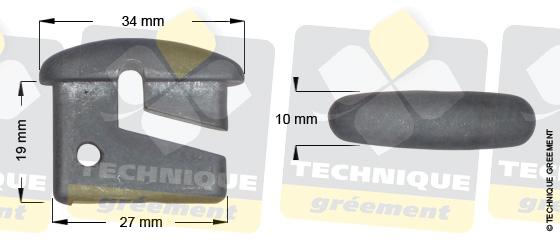 Dimensions embout barre de flèche ZSpars, Z3112