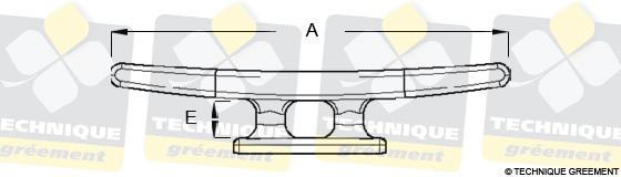 Dimensions Taquet ZSpars 4 Fixations