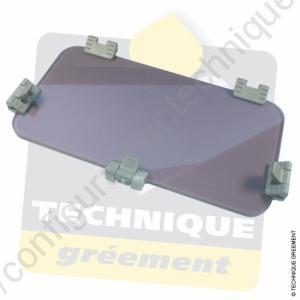 New standard t 5 acrylique gris fumé.